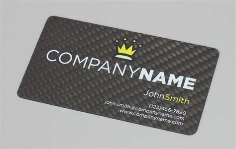 carbon fiber business card template carbon fiber business card gallery business card template