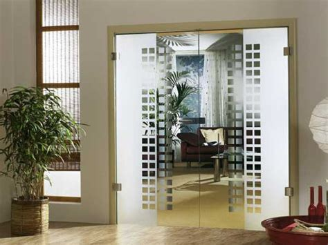 decorative glass partitions home fantastic solid glass doors and room dividers inviting