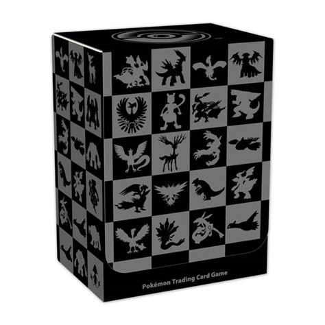 box pattern trading legendary pok 233 mon pattern deckbox pok 233 mon tcg trading