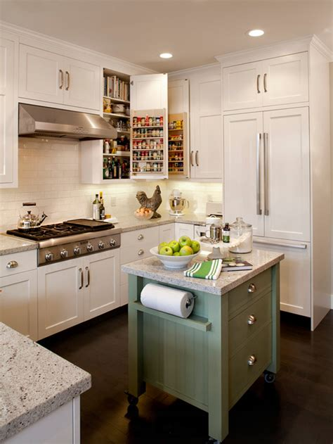 Small Kitchen With Island 48 Amazing Space Saving Small Kitchen Island Designs