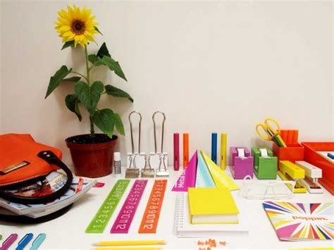 colorful office supplies giveaway colorful office supplies by poppin stylecarrot
