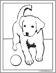 labrador coloring pages free lab puppy coloring pages