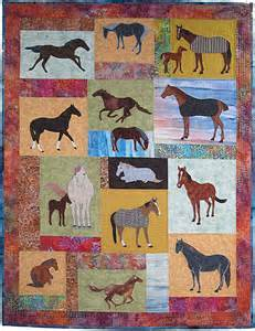 Alfa img showing gt horse applique quilt pattern