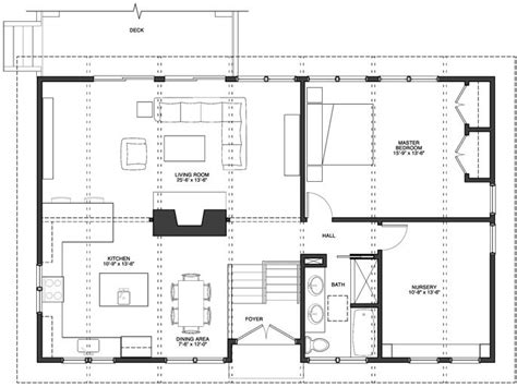 Open Kitchen And Living Room Floor Plans by Open Floor Plan Kitchen Dining Room And Living Room