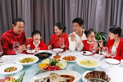 new year traditional family dinner new year s festivals and celebrations
