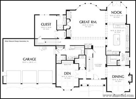 One Story House Plans Two Master Bedrooms House With 2 Ranch House Plans With Two Master Suites