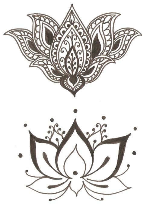 lotus flower symbol vaisnavi sanga mehandi tradition and service