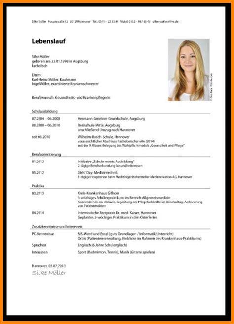 Lebenslauf Tabelarisch 9 Lebenslauf Richtig Schreiben Resignation Format