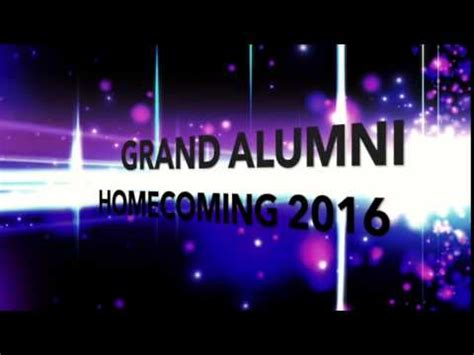 backdrop design for alumni homecoming malate catholic school grand alumni homecoming 2016 youtube
