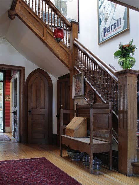 small foyer staircase houzz