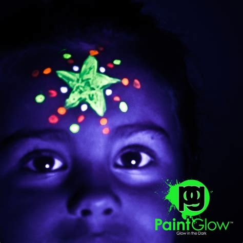 glow in the paint invisible by day glow in the paint invisible 10 x 10ml