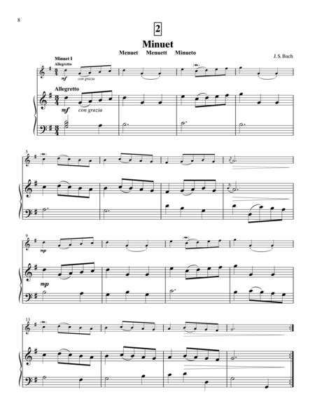 Suzuki Gavotte Suzuki Violin School Volume 3 Piano Accompaniment