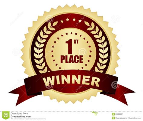 A Place Free 1st Place Winner Clipart Clipart Suggest