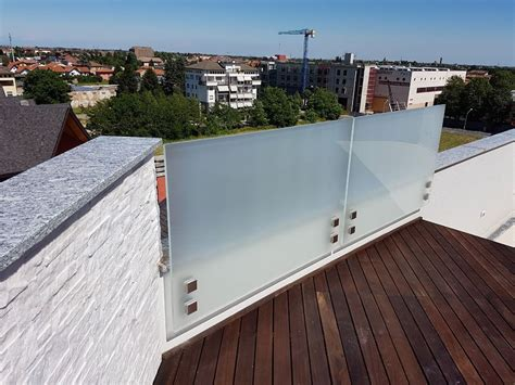 ringhiera esterno ringhiera in vetro esterno
