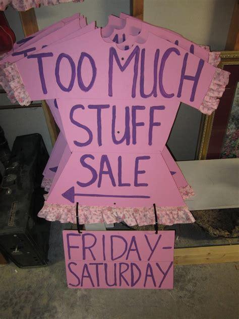best 25 garage sale signs ideas on yard sale