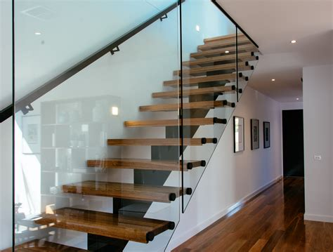Glass Handrails For Stairs Open Staircase Floating Staircase Eric Jones Stairs