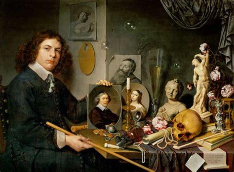 tableau vanite vanit 233 autoportrait avec nature morte tableau de david