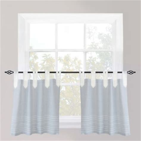 tab top cafe curtains buy tab top curtains from bed bath beyond