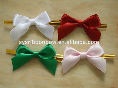 Handmade Ribbon Bows - handmade bottle neck ribbon bows polyester ribbon bows