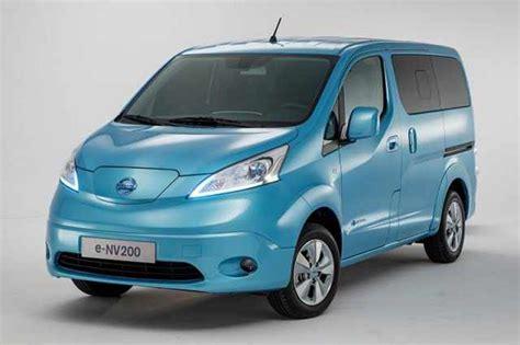 Nissan E Nv200 Evalia 2020 by 2017 Nissan E Nv200 Electric Price Specs Evalia