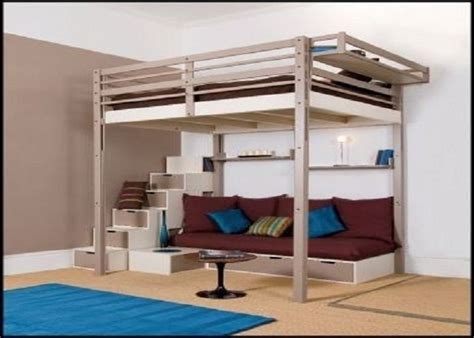 new loft bed frame loft bed inspirations putting