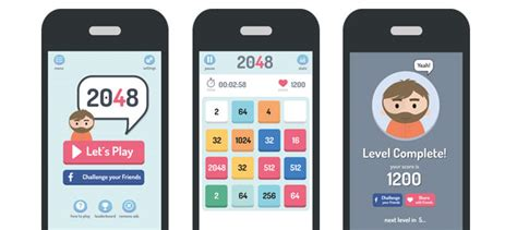 quiz app layout ui graphic assets now available on chupamobile