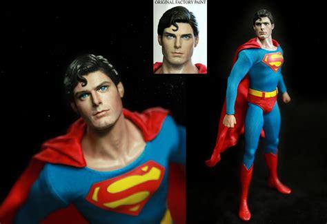 figure repaint toys superman christopher reeve figure repaint by