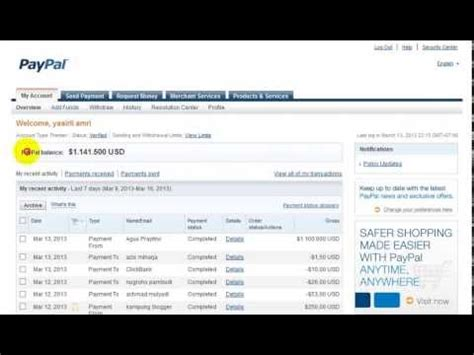 Make Money Online With Paypal - how to make money with my paypal account howsto co