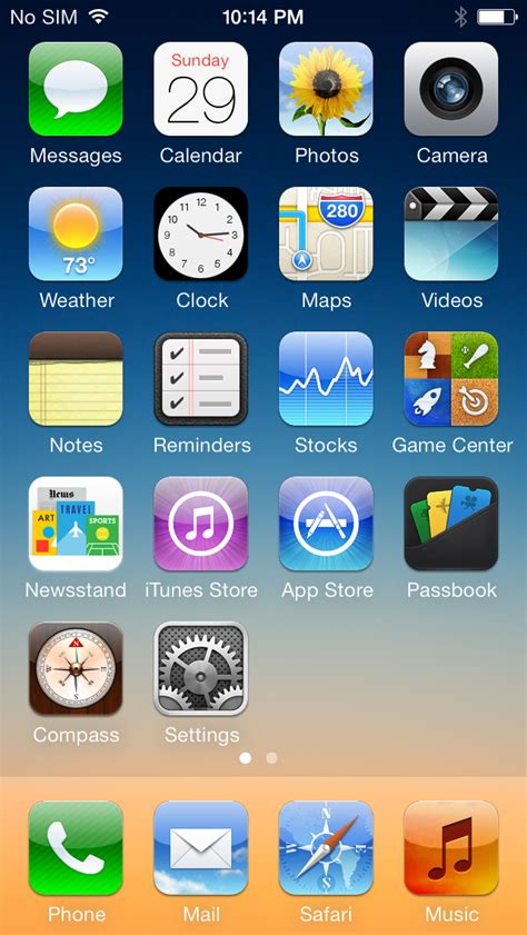 nice themes for iphone 6 image gallery ios 6
