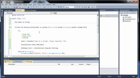 visual c tutorial gui visual basic tutorial 8 gui input boxes and list boxes
