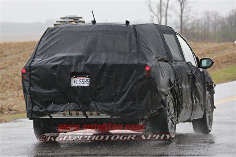 acura van acura minivan spy shots photo gallery autoblog