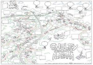 garrison s maps shelby county al line drawing