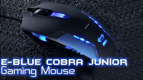 Mouse Gaming E Blue Cobra e blue cobra gaming mouse unboxing review