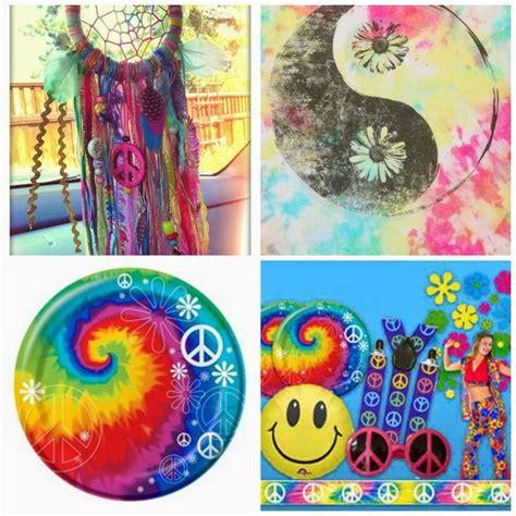 decoracion para fiesta hippie como decorar una fiesta hippie hippies diy y