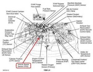 1996 honda accord transmission speed sensor transmission