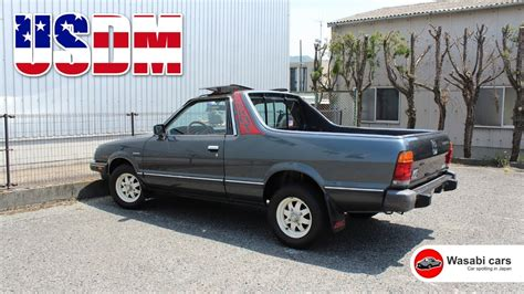 1986 subaru brat spotted in japan a 1986 usdm subaru brat youtube