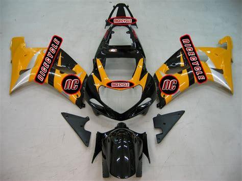 Suzuki Oem Fairings 2000 2003 Suzuki Gsxr 600 750 Yellow Oem Style Fairings