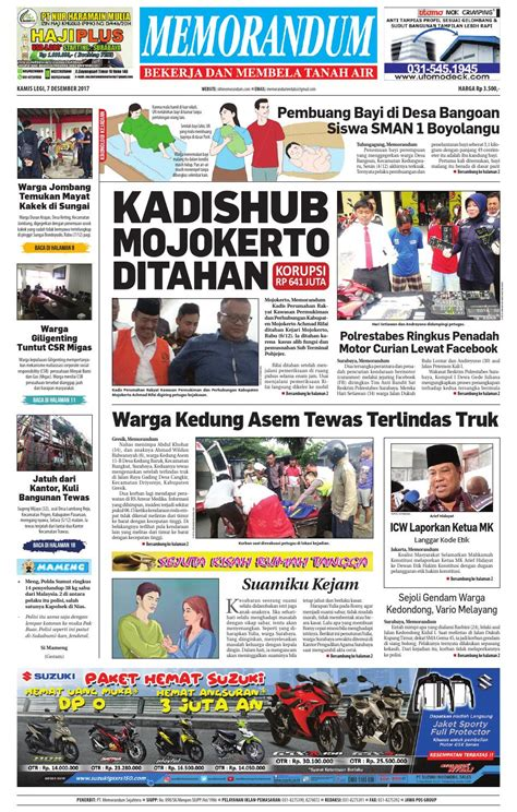 memorandum edisi 7 desember 2017 by memorandum issuu