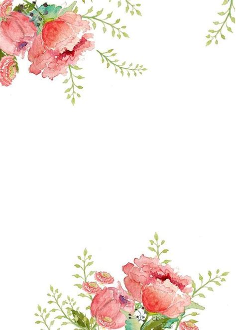 free printable borders flowers 25 best ideas about floral border on pinterest flower