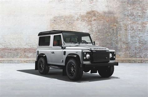 land rover defender black land rover defender silver pack e black pack foto