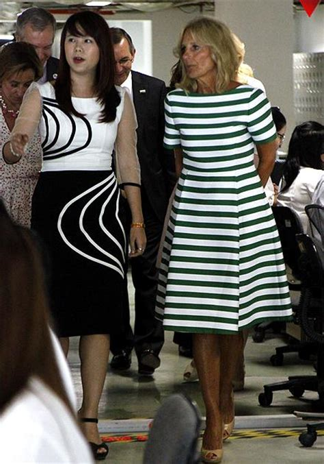 vice president wife hair style fashion style of us vice president s wife jill biden in