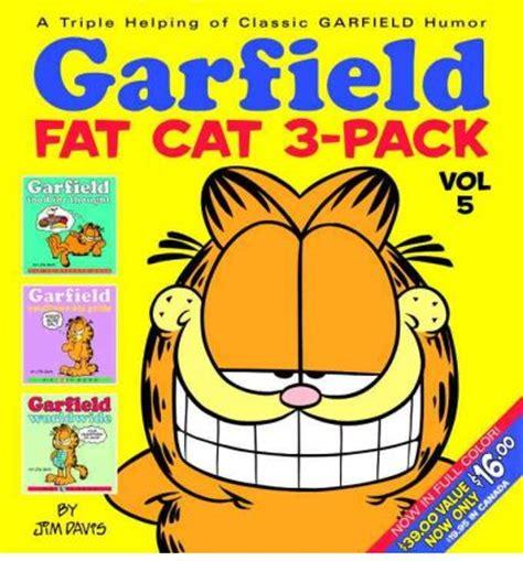 garfield cat 3 pack 11 books garfield cat 3 pack jim davis 9780345491800