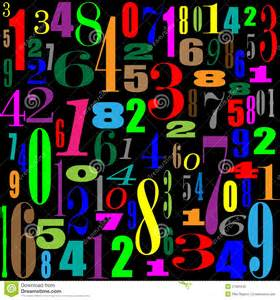 wallpaper with numbers black stock photo image 27081640