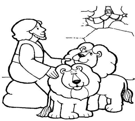 free printable coloring pages of daniel in the lion s den printable daniel and the lions den coloring pages