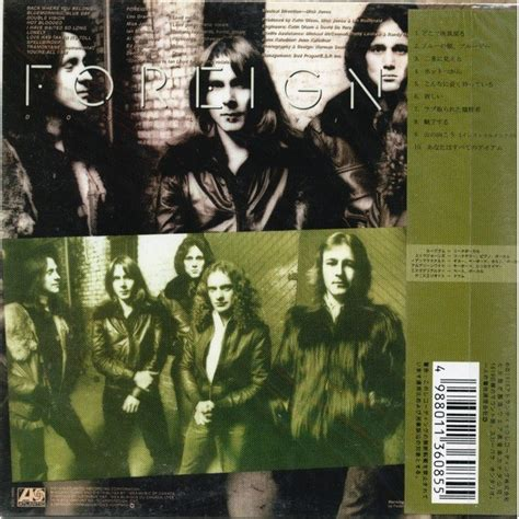 Foreigner Vision vision by foreigner cd with techtone11 ref 118593914