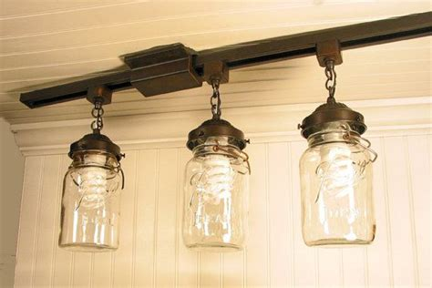 jar track lighting vintage canning jar track lighting created for