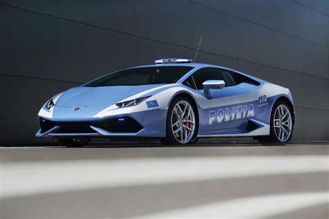 police lamborghini lamborghini huracan police cars join italian force