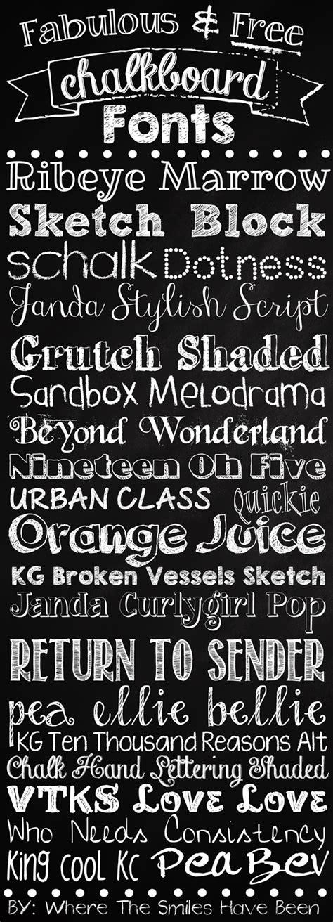 chalk pattern font fabulous free chalkboard fonts