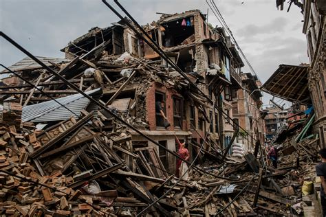 earthquake quake caught in nepal s earthquakes the new york times