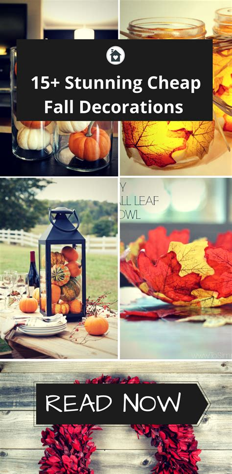 cheap fall decorations for home 15 cheap fall decorations that i absolutely love tiny